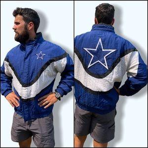 Vintage Dallas Cowboys NFL Sideline Puffy Jacket